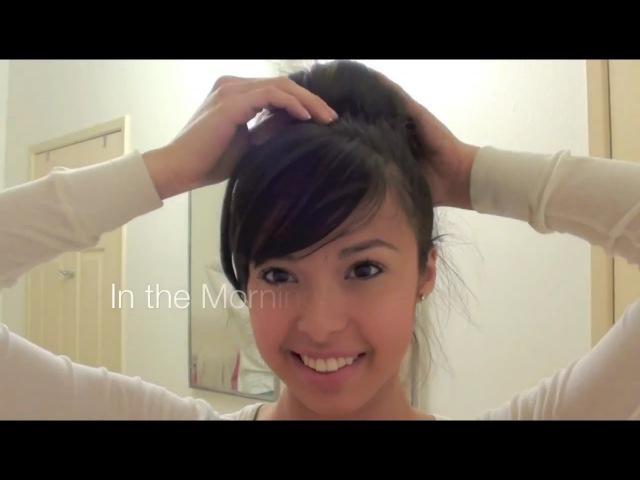 Tip 5 : Sock Bun Loose Curls [No Heat] » Freewka.com - Смотреть онлайн в хорощем качестве