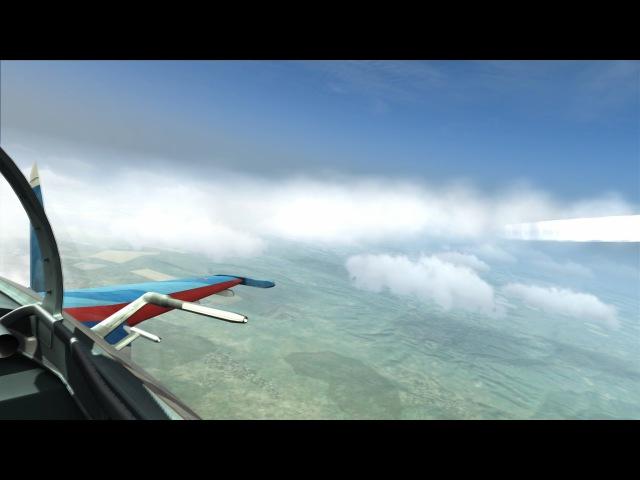 DCS:W Су-27 полеты в стратосфере