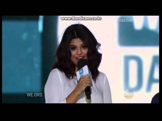Selena Gomez At We Day ( August 21 2015 )