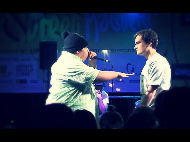 BigBen vs B-Art - 1/2 Final - European Beatbox Masters 2015