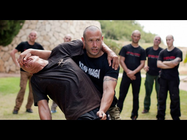 This is what REAL KRAV MAGA looks like
