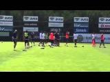 Robin van Persie & Luis Nani Fenerbahce training 12/08/2015