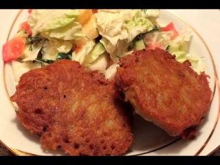 Картофельные колдуны с фаршем рецепт драники