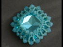 Sidonia's handmade jewelry How to bezel a 23mm Swarovski square cabochon
