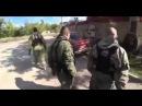 Ополченец Гиви избил пьяного командира Донбасс, Донецк, Украина.