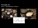 8th Note Fills - Drum Lesson - Billy Ashbaugh