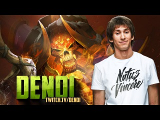 Dota 2 Stream: Na`Vi Dendi - Clinkz (MUST SEE!)