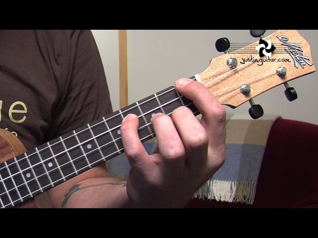 Ukulele Lesson 3 - Uke Open Chords: A Amin A7 D Dmin D7 E Emin E7 (UK-003)