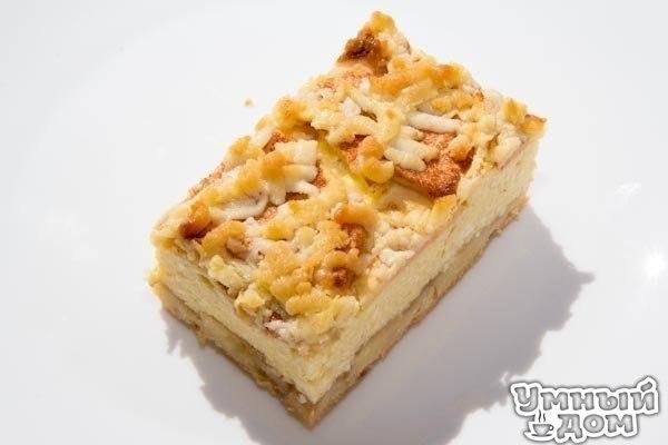 Тертый пирог с творогом и яблоками. Наверное, у каждой хозяйки живущей в СССР был свой рецепт «тертого пирога». Для любителей творога и творожной выпечки предлагаю вот такой нежный сочный, и очень, очень вкусный пирог из моего детства. Нечего о нем долго писать, надо пробовать. Вам потребуется: Для теста: Мука - 2,5 стакана Масло сливочное - 100 г Яйцо - 1 шт Сметана - 1 столовая ложка Сахар - 1 стакан Разрыхлитель - 1 столовая ложка (без горки) Для начинки: Творог - 400 г Яйца - 3 шт Сахар -…