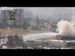 СИРИЯ! Видео про ''хреновые'' русские (советские) танки ..!!))
