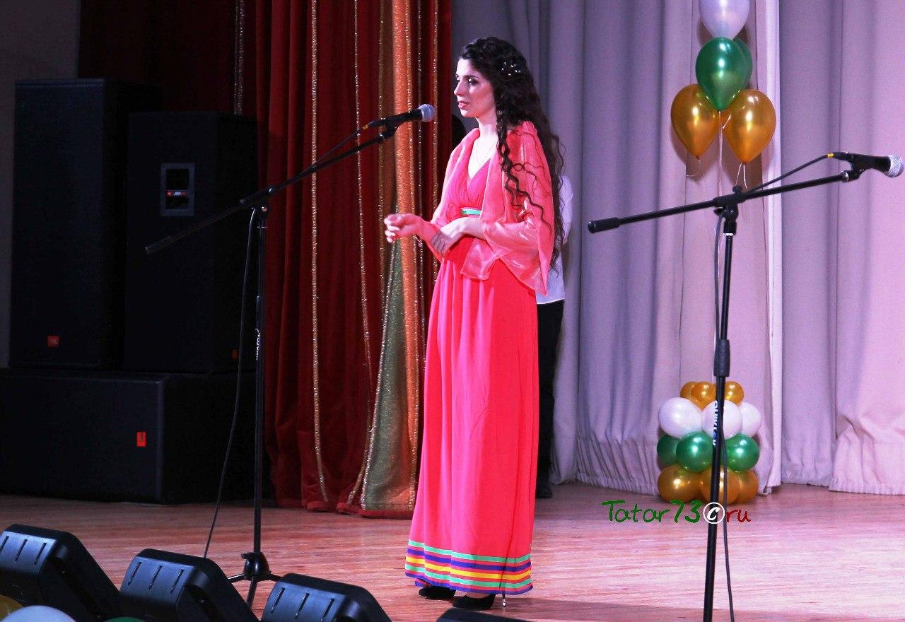 Ляйсан Усманова на региональном этапе конкурса