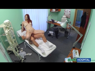 FakeHospital.com: Isabella Sexy Redhead Surprises Doctor With Whats Inside Her Pussy (2015) HD