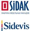 Sidevis - кухни и фасады Сидак-СП в Минске