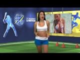 Сексуальная телеведущая из Венесуэлы разделась в прямом эфире