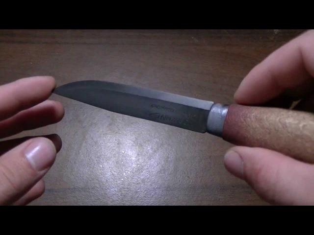 Травление ножа в Лимонной кислоте