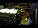 Изобретение ГРМ в ДВС без клапанных пружин Gas distribution system without valvate springs