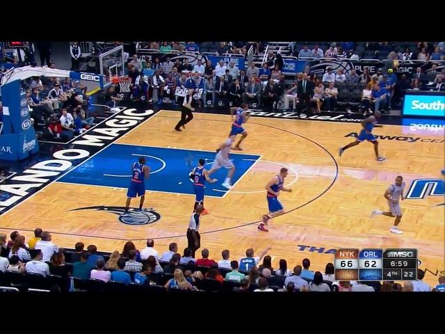 НБА , Никс - Мэджик / NBA. 2015.04.11. New York Knicks - Orlando Magic. / 2 пол