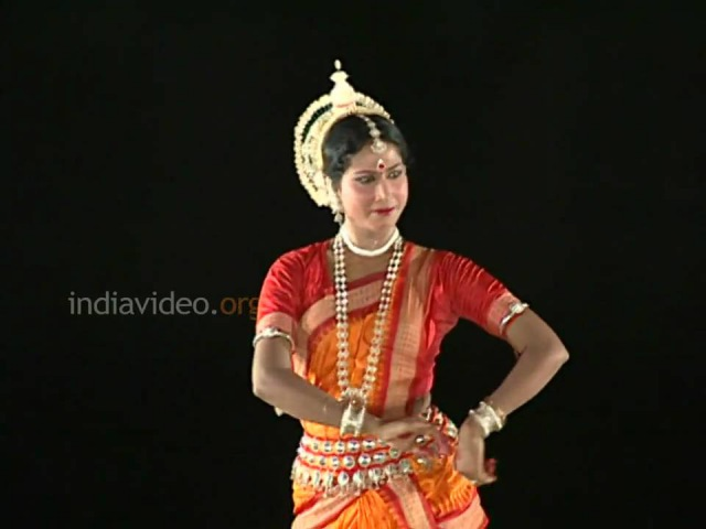 Odissi Dance PART 3   Indian Classical Dance by Sujata Mohapatra