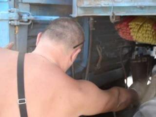 добавка Форум-500 заливка на КАМАЗ зерновоз, Новороссийск