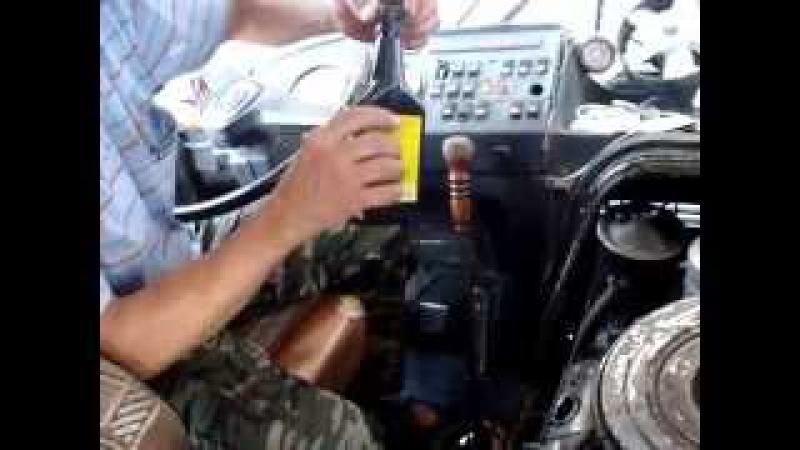 Заливка добавки ПТФЭ Форум-500 в автобус ПАЗ, Новороссийск