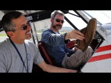 Flying a Tail Dragger - Tip #3 - Taxi + Run-up + Take-Off - Shoes Matter! - POV flying