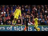 Кристал Пэлас - Челси 1:2.Чемпионат Англии,8-й тур.О бзор голов