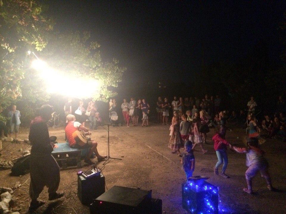 8 сентября в ДиноПарке прошел концерт
