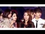 BTS V (Taehyung)  T-ARA Jiyeon [ Vyeon Moments ]