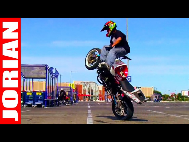 Motorcycle Stunts : Jorian Ponomareff - Training Montpellier