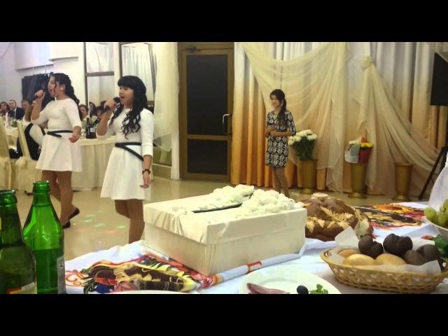 Оригинальное поздравление на свадьбу от младшей сестры 12