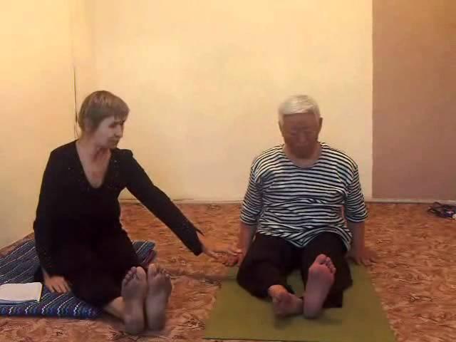 восстановительная йогатерапия после инсульта часть 1 Том