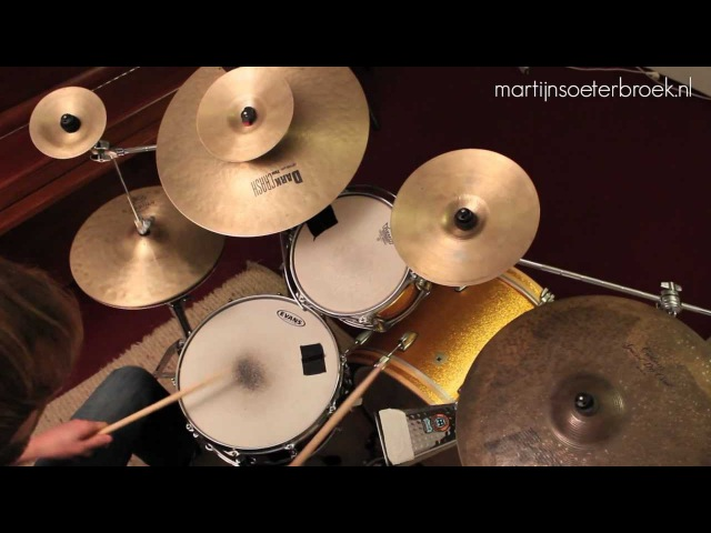 Tony Royster Jr. (12yr) linear drum groove explained Drum Lesson wDrummerMartijn