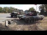 Украина АТО Танки Ополчения идут с Новоазовска на Мариуполь Новое