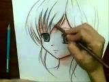 How To Draw Anime Girl/Как рисовать аниме девушку