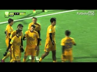 ArmFootball.com / Դավիթ Արշակյանի հերթական գոլը «Գրանիտասի» դեմ խաղում