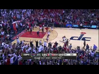 [HD] Atlanta Hawks vs Washington Wizards | Full Highlights | Game 3 | May 9, 2015 | NBA Playoffs