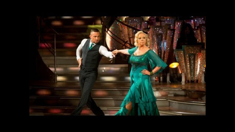 Deborah Meaden Robin Tango to 'Money Money Money' Strictly Come Dancing 2013 Week 1 BBC One