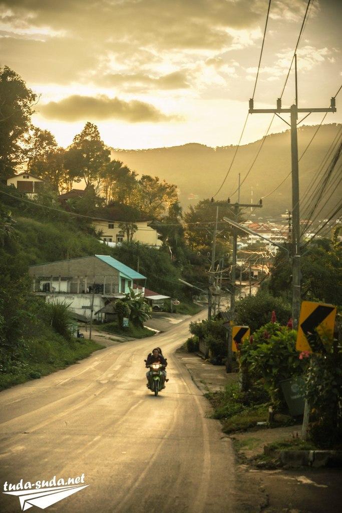 Дорога в Мае Салонг