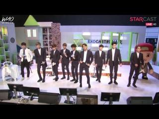 [WAO рус.саб] 150406 EXO 'Starcast' специальный выпуск к выходу нового альбома (ЧАСТЬ ПЕРВАЯ)