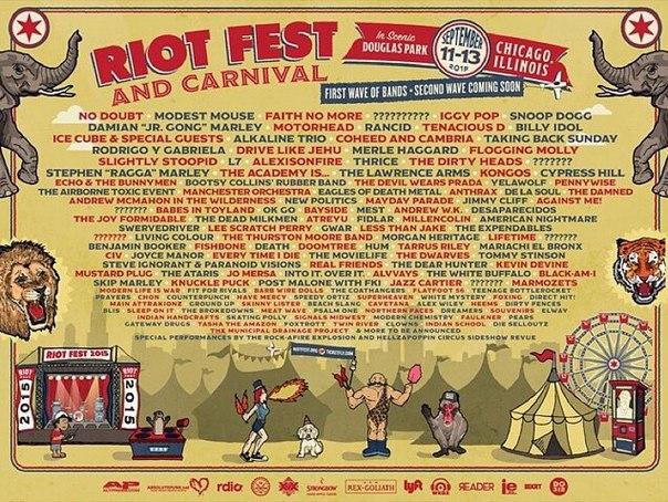 No Doubt выступят на Riot Fest