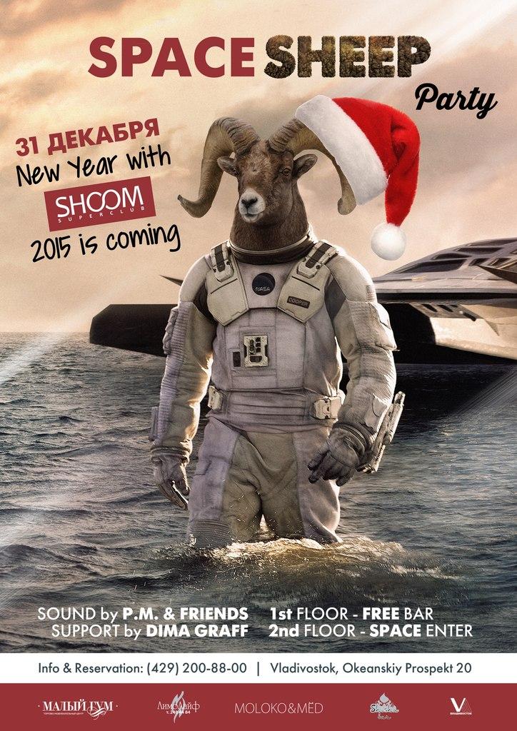 Афиша Владивосток SpaceSHEEP New Year Party