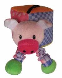 """Игрушка мягкая с пищалкой """"свинка"""", для щенков, Chomper"""