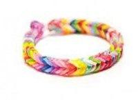 """Набор резинок для плетения браслетов """"пастельные цвета"""", 150 штук, Альт"""