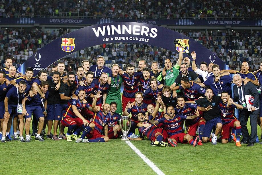 59. FC Barcelona (ESP) - Sevilla FC (ESP) 5:4