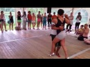 Morenasso and Anais - Kizomba Swimming Festival 2014 - Semba
