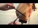Мастер класс для парикмахеров по стрижке каре боб Трэйси Курсы парикмахеров Артема Любимова