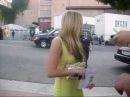 Amanda Bynes Arriving Teen Choice Awards 2009