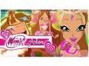 Winx Club - Flora All Transformations