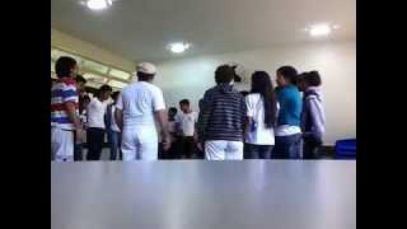 Capoeira Meia Lua: Oficina no CEF 08. Sobradinho II, Distrito Federal, Brasil. 14mai15. 20B