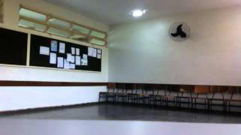 Capoeira Meia Lua: Oficina no CEF 08. Sobradinho II, Distrito Federal, Brasil. 14mai15. 15
